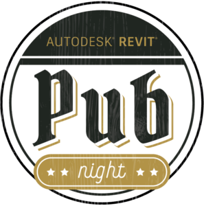 Revit Pub Night Banner Logo